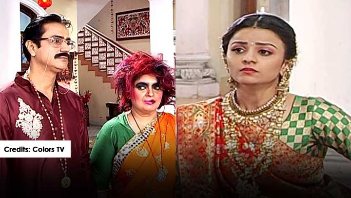 Shubharambh-Rani-takes-Moti-Mummy-avatar-everybody-shocked