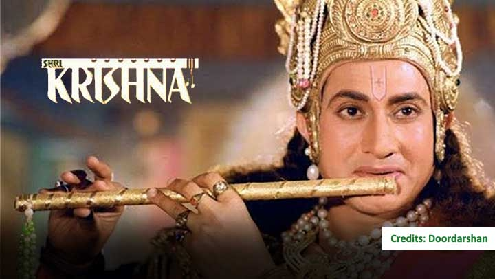 Shri Krishna Cast, Doordarshan serial Timing, Character Real names