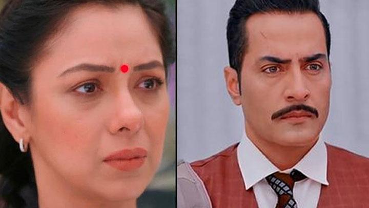 Anupama-Vanraj-shocked-seeing-Anupama-in-office