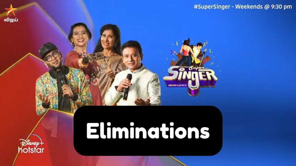 Super Singer 8 Elimination Today | Vijay TV Super Singer 2021