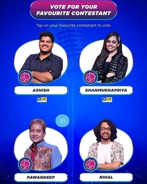 Indian-Idol-2020-Voting-Screen-How-to-Vote-Contestant