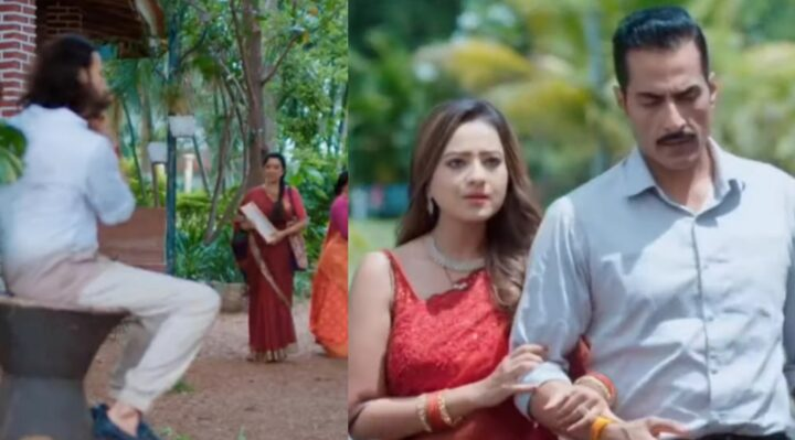Anupama: Kavya-Vanraj return home in Just Married car