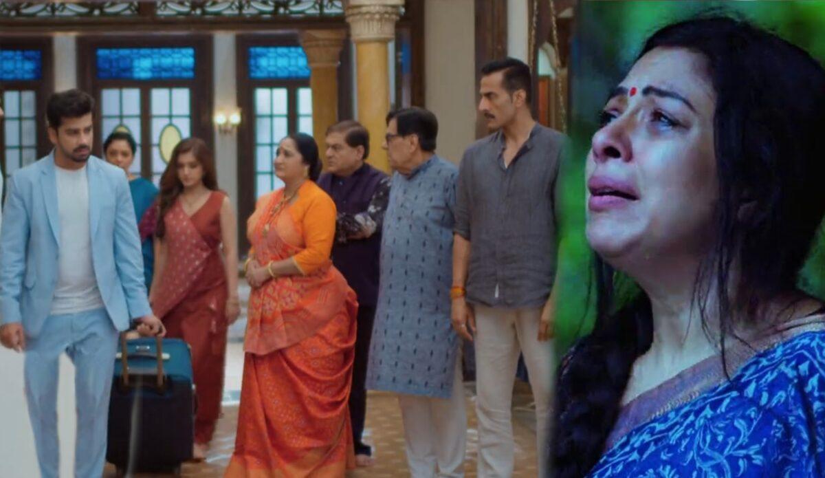 Anupama: Paritosh-Kinjal leaves Shah mansion; Anupama's emotional breakdown