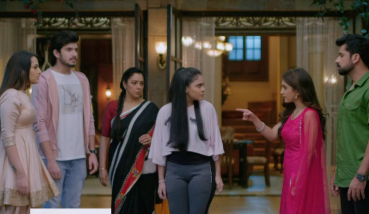 Anupama: Pakhi misbehaves with Nandini; Kinjal slaps Pakhi