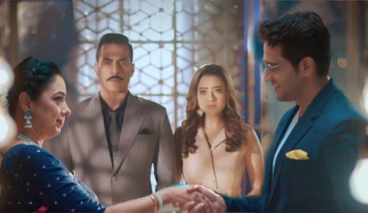 Anupama: Anupamaa-Anuj's new beginning; Kavya flirts with Anuj