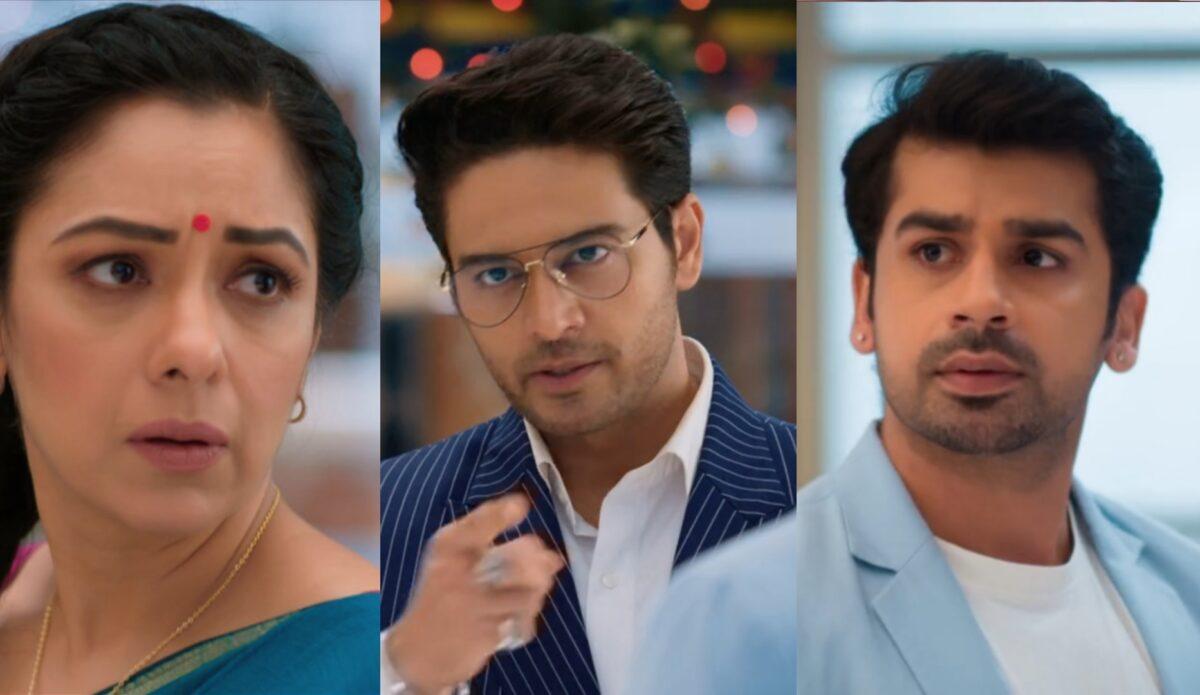 Anupama: Paritosh tags Anupamaa as Gold digger; Anuj loses his cool
